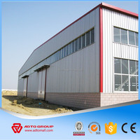 Steel Prefabricated Building 50 Years Working Life , Steel Structure Warehouse with Drawing, Q235 Q345 Structural Steel Building