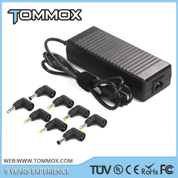 Notebook Power AC Adapter 120W Automatic Voltage Adjustment with 8 DC Connectors