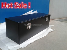 Black Steel underbody truck tool box, underbed truck tool box with black powder coated