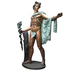 Bronze Apollo Sculpture