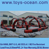 Factory Price Inflatable Race Track For Car