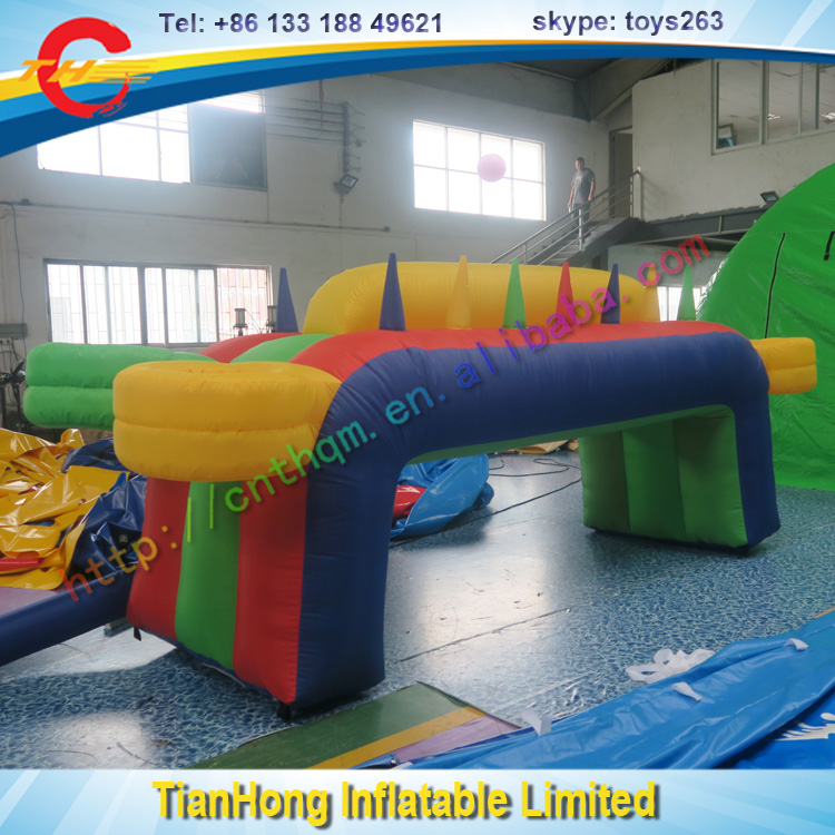 small inflatable games for children / keep the ball floating game inflatable / cheap inflatable ball floating game