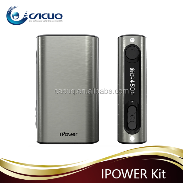 100% Original Eleaf ipower 80w mod suit for Griffin 25 RTA /Smok TFV8 from CACUQ wholesale