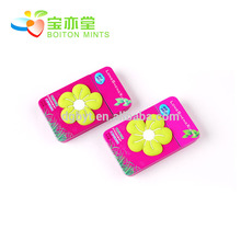Factory hot sales sugar free mint candy with tin box