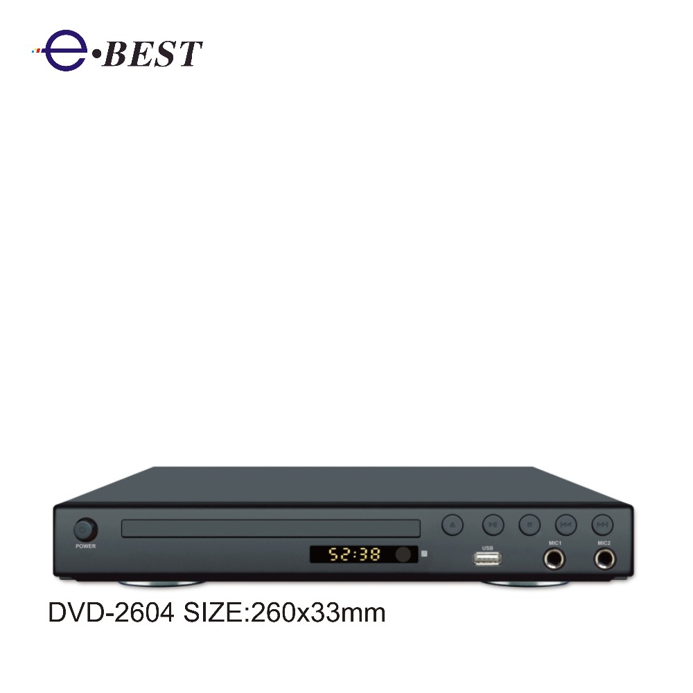 2017 HOT USB SD card home DVD player with good price