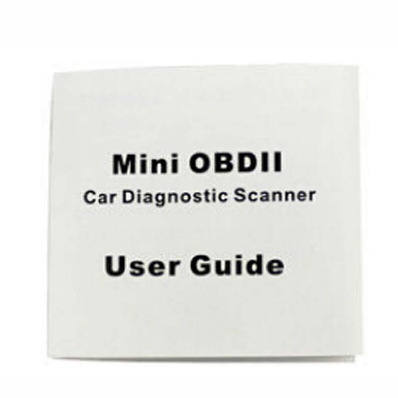 car accessories MINI OBD elm 327 obdii auto car diagnostic scanner for used car