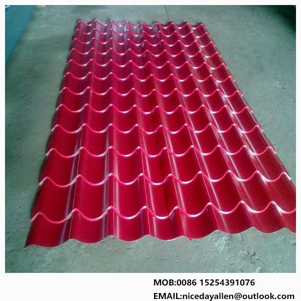 SPCC iron roofing sheet for wall panel