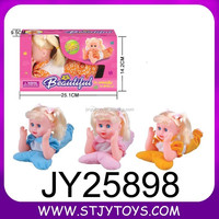 "cute 10"" Electronic singing baby doll lovely talking baby doll toy"