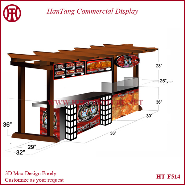 Professional fast food kiosk design ideas for sale made in ...
