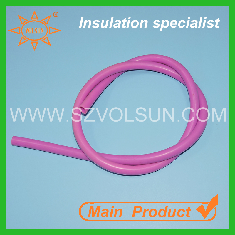 "1/3"" Food Grade Fluid Transfer Heat Resistant Silicone Rubber Tube"