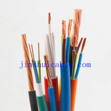 LOW MOQ FACTORY PRICE 1.5mm 2.5mm2 4mm2 6mm2 10mm 2 double insulated pvc wire cable