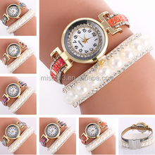 2016 September new design wrist Pearl watch watches ladies