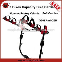 China Manufacuturer Customized 81*57*12Cm Powerful Capacity Trunk Bike Racks For Cars