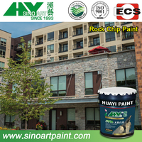 popular natural granite spray stone paint for exterior wall