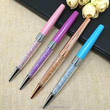 wholesale alibaba hot selling promotional simple diamond ball-point pen