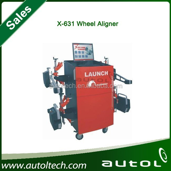 launch x631+ truck wheel alignment machine for sale alignment machine four used wheel alignment
