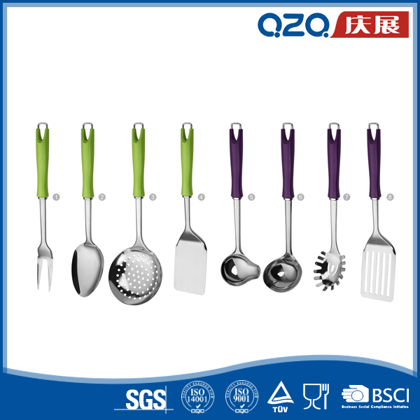 Superficially convenient stainless steel small kitchen utensils in custom