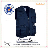 SUNNYTEX Hot Sale Industrie Clothing Mens Work Vest