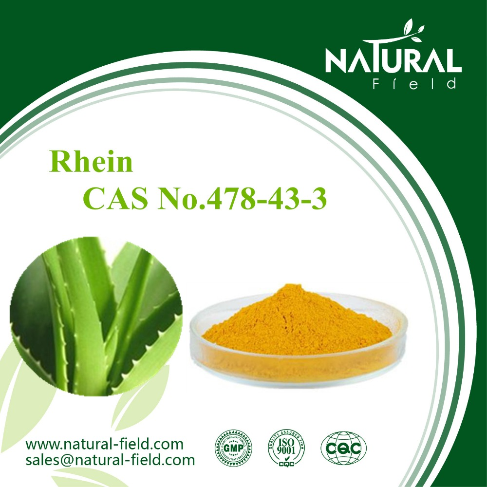 Hot selling 98% rhein in herbal extract