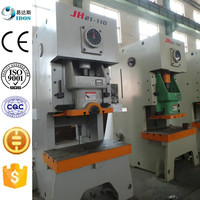 JH21 series open front fixed manual punch press, industrial press machine for die punches