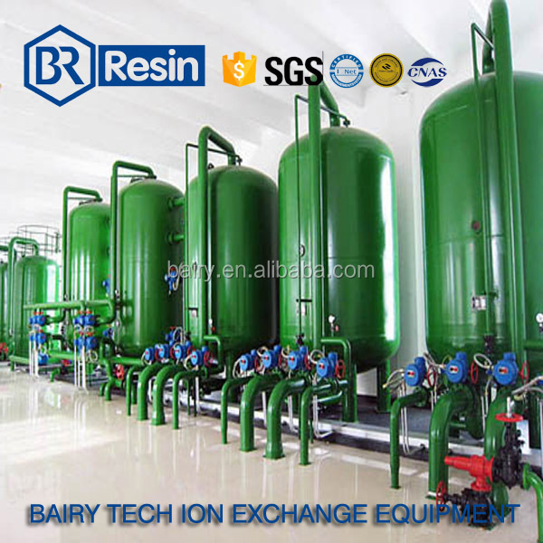 industrial water treatment solution ion exchange resin column design