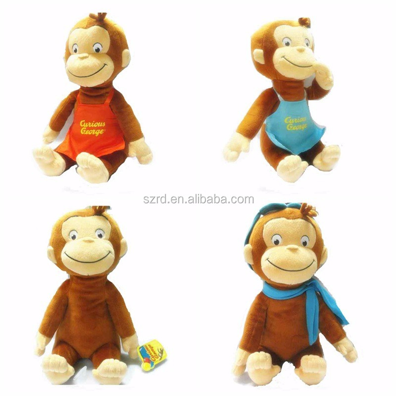 Super soft and high quality CE EN 71 tested plush toys/Custom cute promotional wholesale mini soft toy/plush monkey animal toy