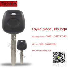 programmable blank car keys for toyota corolla transponder key toyota g chip key with 4c chip