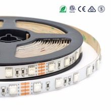 Factory supply multicolor 5050 rgb 60leds/m led light strip