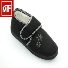 Fashion slipper leather shoes guangzhou shoes