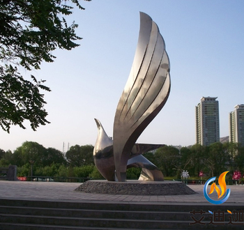 Representative of the emerging park tidal culture modern garden sculpture