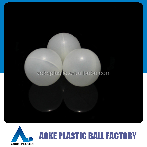 PP empty floating ball 50mm hollow plastic ball
