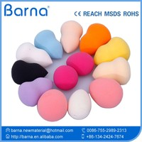 Hot Selling Hydrophilic Pretty Makeup Using Cosmetic Sponge Latex Free Make Up Sponge