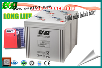 lead acid ups deep cycle rechargeable Agm battery 2v 1600ah high power discharge rate battery