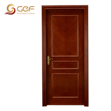 Veneered red oak wood door for interior use