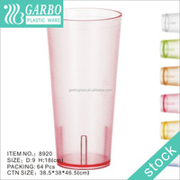 High quality fashion plastic drinkware , Wholesales Plastic Restaurant Plastic Drinkware , cheap water drinking cup /tumbler