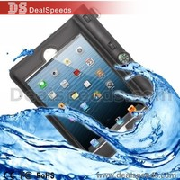 High Quality Protective Case Waterproof Bag for iPad mini 3 / 2 / 1 with Compass