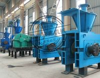 Professional 2t/h capacity coco peat briquette making machine / hydraulic briquette press machinery for sale