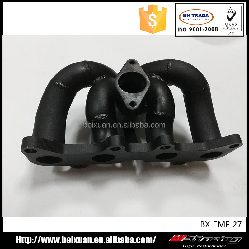 exhaust manifold for toyota starlet 4efte T25 T28 T3 T4 flange turbo
