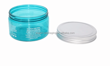 Wholesale cosmetic containers 4oz plastic PET round jar 4oz cosmetic containers