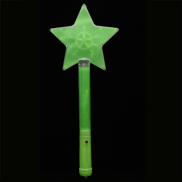 led flashing light stick/led star light stick/star glow stick