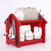 Useful Plastic Storage dish shelf kitchen Organizer dish rack SH704