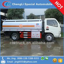 Dongfeng Mini 3CBM Truck Fuel Tank,4X2 Fuel truck for sale