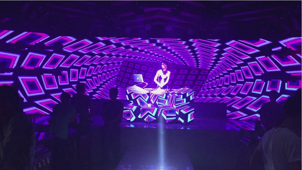 3d Dj Stage Console Wall Led Video Panel Booth For