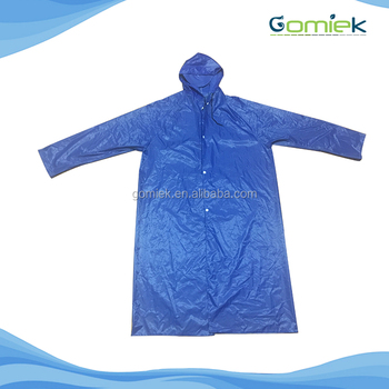 OEM factory directly sale high quality pvc raincoat waterproof rain suit