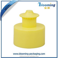 Professional 24mm 28mm Plastic water Bottle Push Pull cap supplier