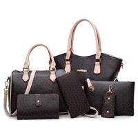 Lady Bag Handbag Brands Designer Bag China Factory 6 in 1 set bag Handbag