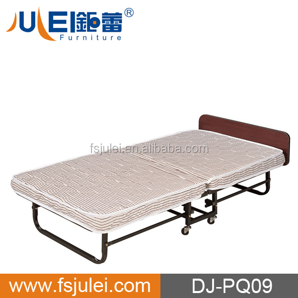 Good Price Movable Folding Steel Bed Frame for hotel use