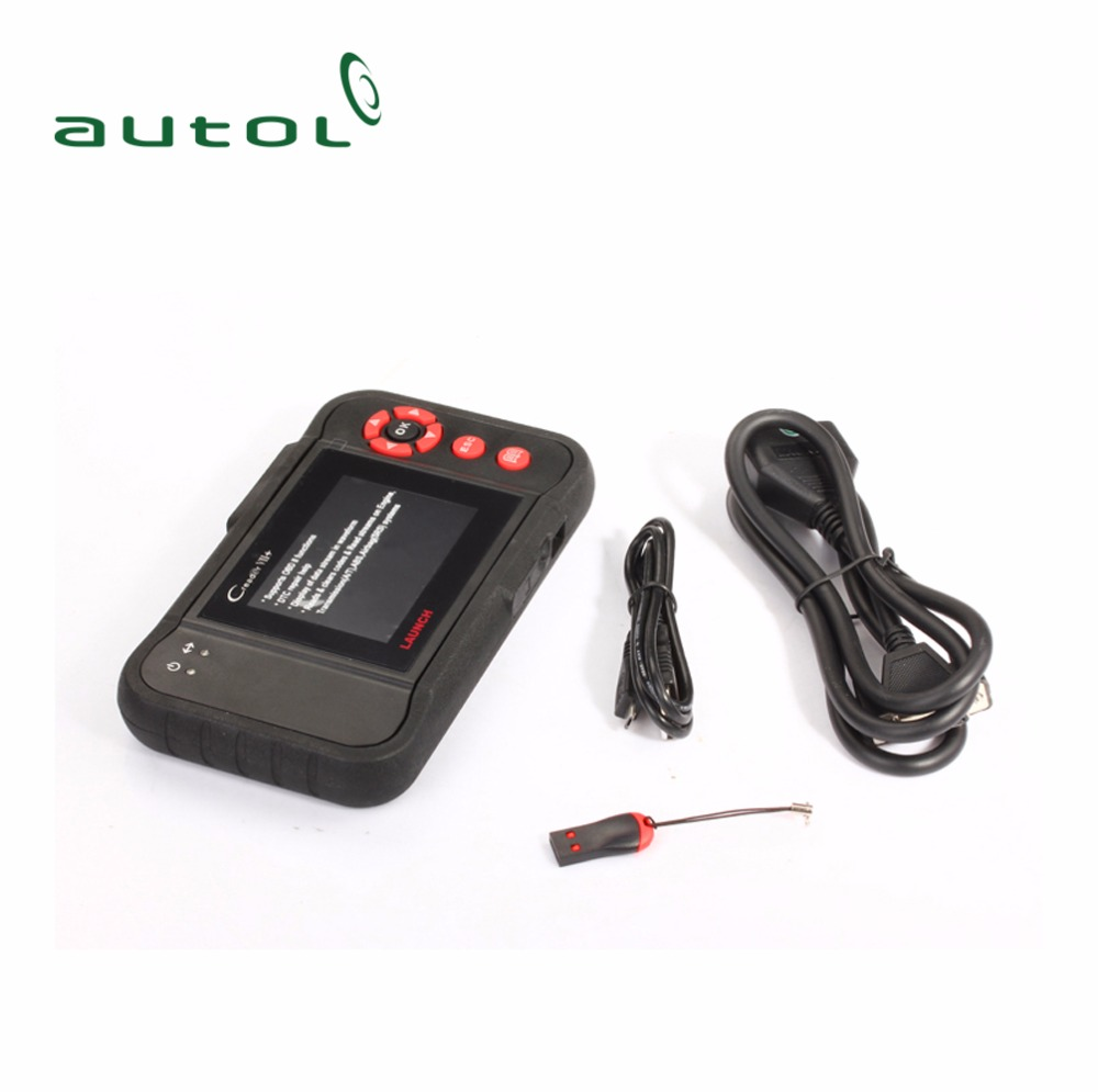 Launch Creader VII+ OBD2 Code Reader Update Online Support Multi Languages Creader 7 Plus