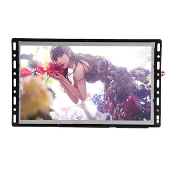 Battery pack/AC in power supply 7 inch LCD media player for promotional activities