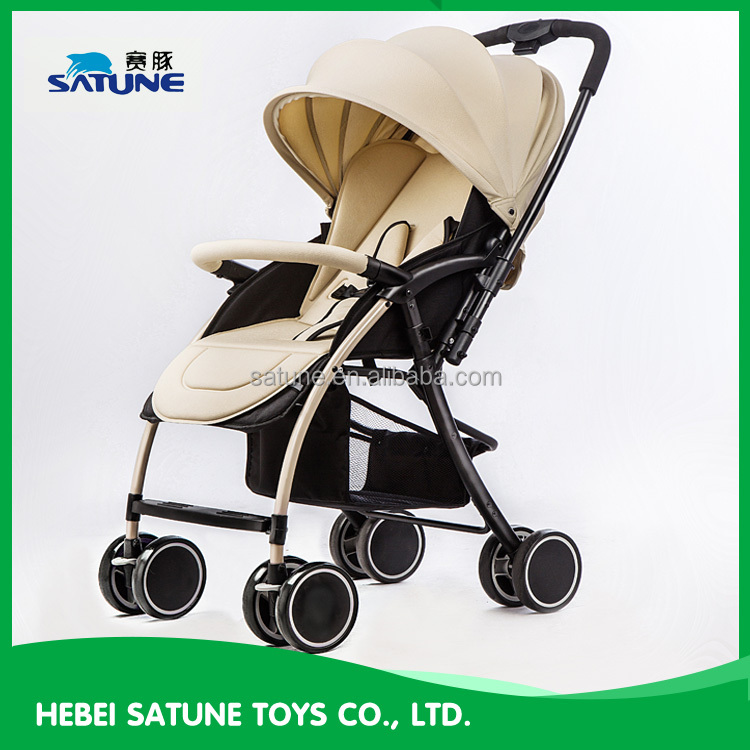 2016 fashion single hand folding baby stroller/foldbale baby buggy stroller/baby stroller carriage